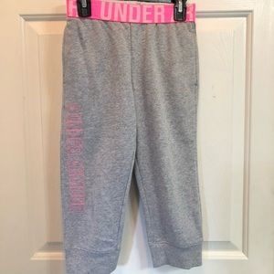 Other - Girls crop pants Under Armour size YS